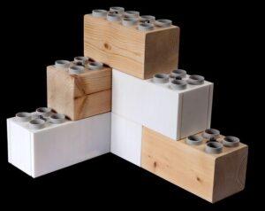 Construir una casa con ladrillos tipo Lego