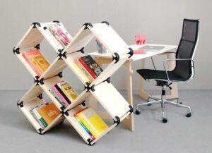 Muebles desmontables con conectores de esquina PlayWood